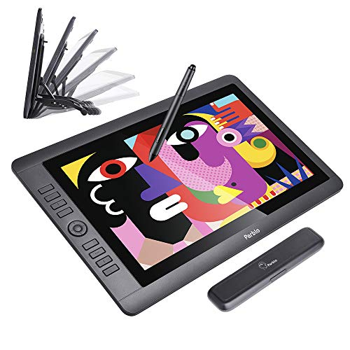 - Parblo Coast16 Digital Graphic Drawing Monitor 15.6 Inches with 8192 Level Battery-Free Pen, Tablet Stand for Digital Art Sketch, Paint, Design, Drawing Tablet Monitor for Windows Mac OSX Computers