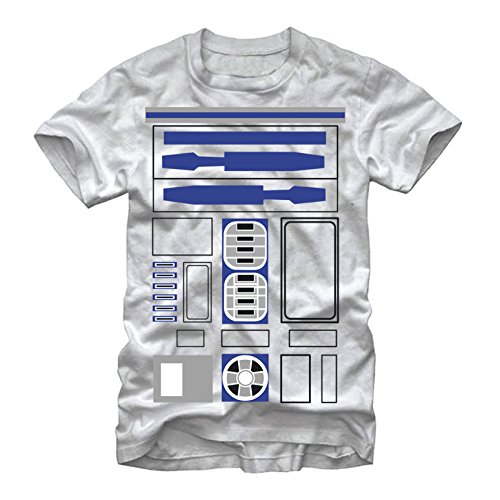 Luke Costume Tatooine (Star Wars R2-D2 Costume Mens Graphic T)