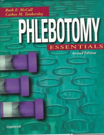 Phlebotomy Essentials ;2 /E