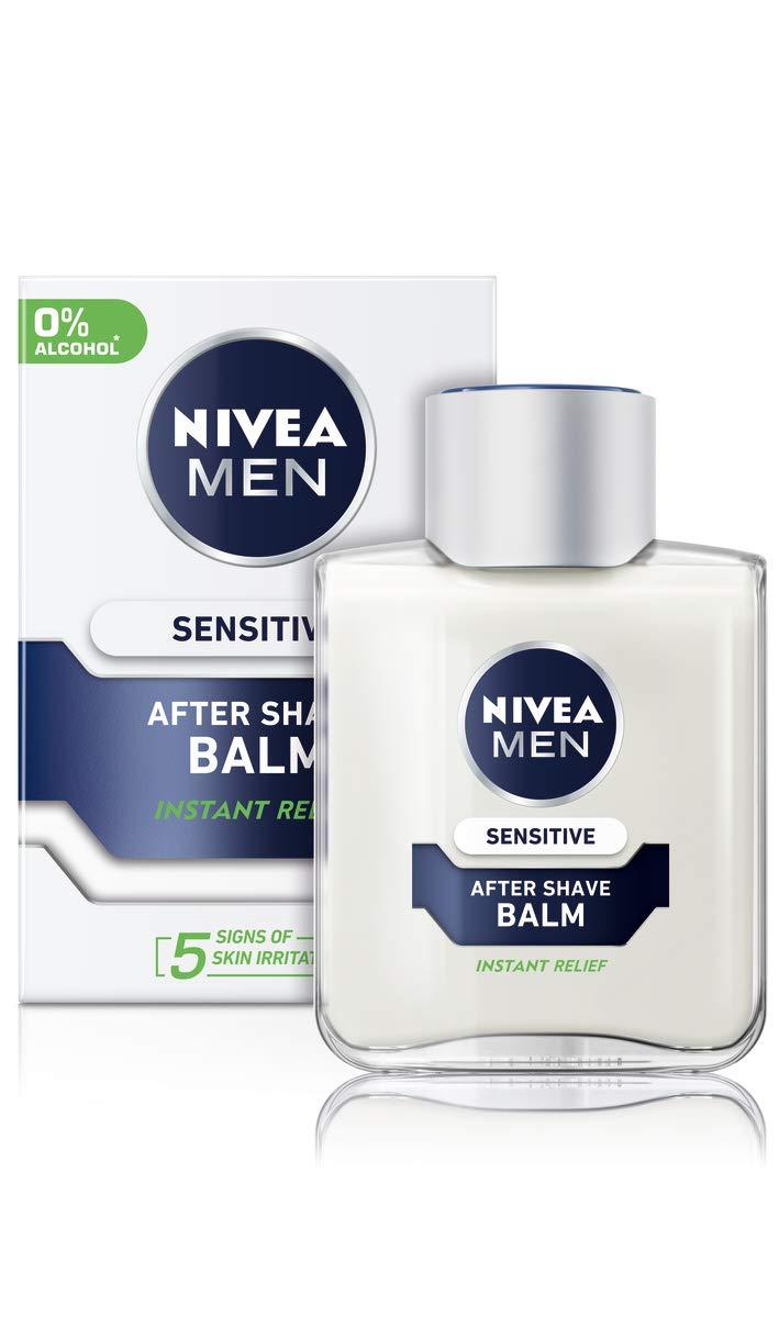 Nivea Men Sensitive Post Shave Balm, 100ml, Pack of 6