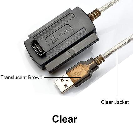 SUNDELLAO 3-in-1 USB 2.0 a IDE/SATA 2.5 & quot, 3,5 & quot; Unidad ...