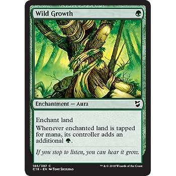 4 x Wild Growth   REVISED   mtg