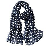 MaaMgic Women's Super Soft Scarf Long Fashion Neckwear Lovely Print Shawl Wraps