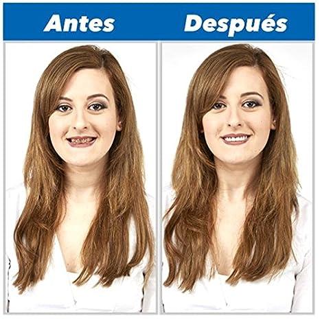 Perfect Smile 2x1 - La increíble e instantánea FUNDA DE CARILLAS reutilizable y extraíble que te proporciona el aspecto de unos dientes perfectos CON ...