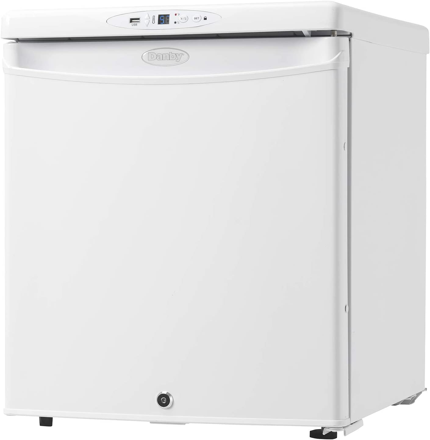 Danby DH016A1W-1 Health Commercial Grade Medical Mini Fridge, White