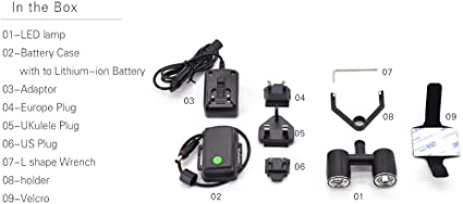 Mulong PGYTECH Night Flight LED Light for DJI Spark Drone Accessories Not Include the Battery
