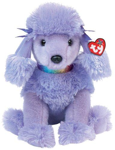 Amazon Com Ty Demure Purple Poodle Toys Games