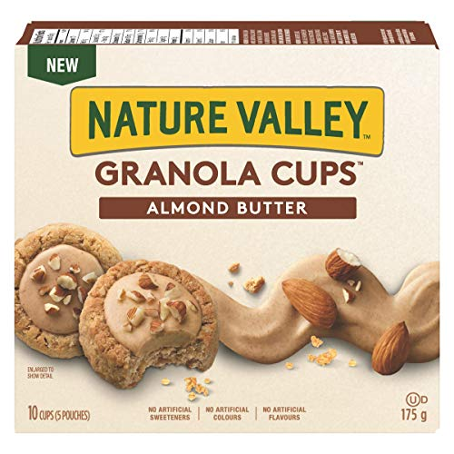 NATURE VALLEY Granola Cups Almond Butter, 10 Count