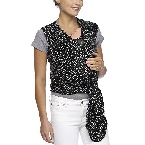 Moby Classic Baby Wrap (Strolling In Salvador) - Baby Wearing Wrap For Parents On The Go-Baby Wrap Carrier For Newborns, Infants, and Toddlers - Baby Carrying Wrap Ideal For Baby Wearing & Breastfeedi