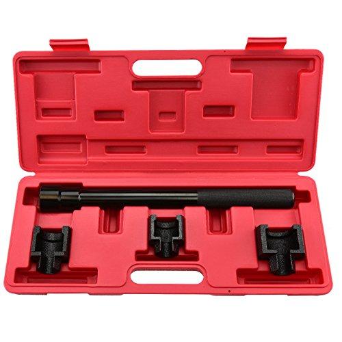 AVGDeals Inner Tie Rod Removal Set   4pc Mechanics Installation Tool Dual Socket Adapter