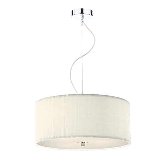 zaragoza 60cm cream extra large pendant light shade zar1733