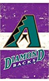 Rico Industries, Inc. Arizona Diamondbacks EG Vintage Banner Premium 2-Sided 28x44 House Flag Baseball