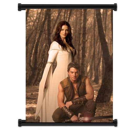 Legend of the Seeker TV Show Fabric Wall Scroll Poster (16