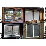72 x 60 window 30 degree 23 60 collidescape white window film to prevent bird strikes by amazoncom 72