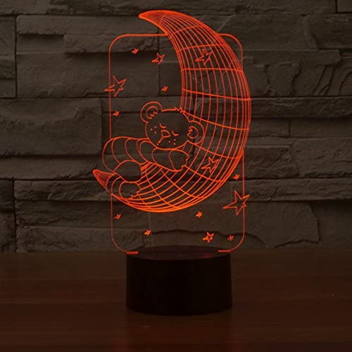 Gift Ideas For Your Loved Ones  | 3D Illusion LED Design Lamp