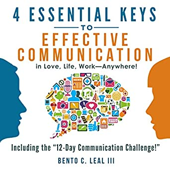Amazon com: 4 Essential Keys to Effective Communication in Love
