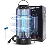 AMUFER Bug Zapper,Electronic Fly & Mosquito Killer Trap and Fly Zapper Insect Killer Catcher Lamp Fly Killer Safety for Residential Commercial Industrial Home Office (13W)