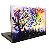 SaferCCTV MacBook Pro 13 Retina Case, Glitter Pattern Soft-Touch Hard Case Cover, Free Screen Protector, Keyboard Cover, Touchpad Film and Dust Plug for MacBook Pro 13'' Retina (A1502/A1425)