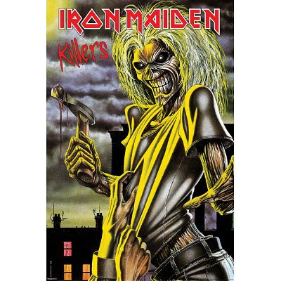 Iron Maiden (Killers) Music Poster Print - 24x36 Poster Print, 24x36 (Iron Maiden Killers Poster compare prices)