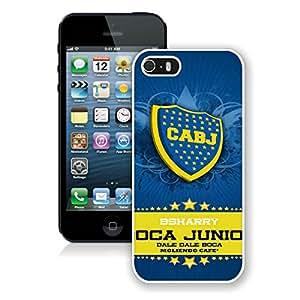 Boca Junior 2 White Cool Customized Design iPhone 5S Case