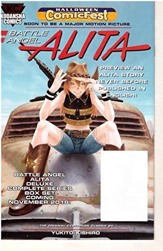 ALITA #1 Halloween Comicfest, Promo, 2018, NM, Battle Angel, Kodansha -