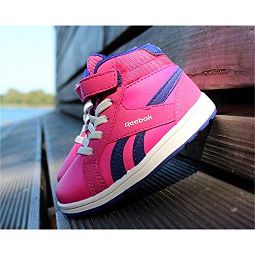 Reebok , Baskets pour fille rose rose