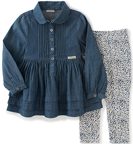 calvin-klein-little-girls-toddler-denim-with-buttons-tunic-and-leggings-set-blue-4t