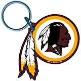 """Washington Redskins Official NFL 3"""" Key Ring Keychain by Wincraft"""