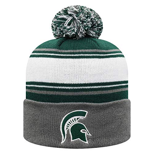 2f48e14c796d0 NCAA Michigan State Spartans Men s Elite Fan Shop Winter Knit Ambient Warm  Hat