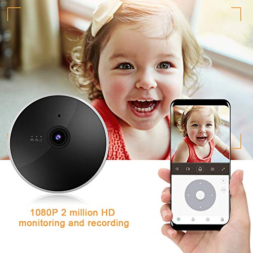 Smart WiFi Camera, 1080P Smart WiFi Camera Network Camera Security Monitor-Quality is Our Culture(US, 110-240V)