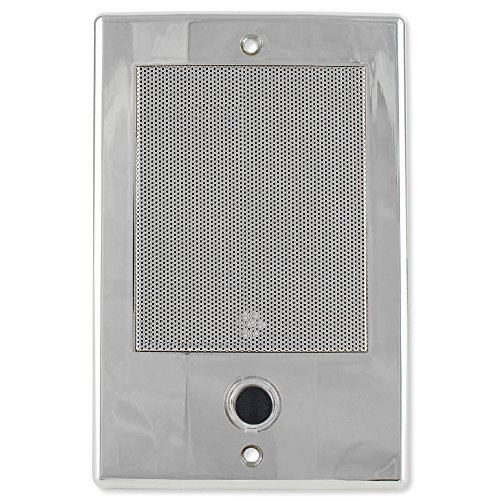 M&S Systems DMC Intercom Door Station with Bell Button, Nickel (DS3NB)