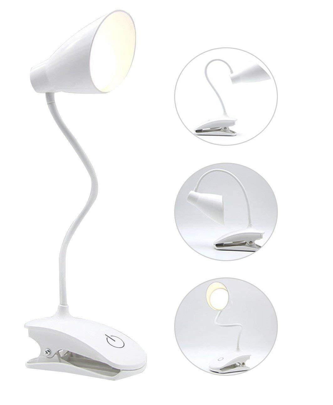 2019 12 Led Light Super Bright Desk Study Reading Table Pc Lamp Usb Battery Lamps Lighting Ceiling Fans Home Garden