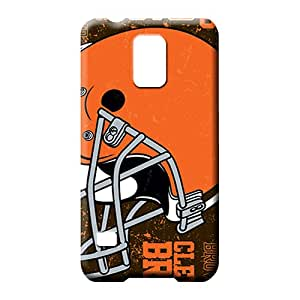 samsung galaxy s5 Classic shell Durable Snap On Hard Cases Covers mobile phone carrying shells cleveland browns nfl football