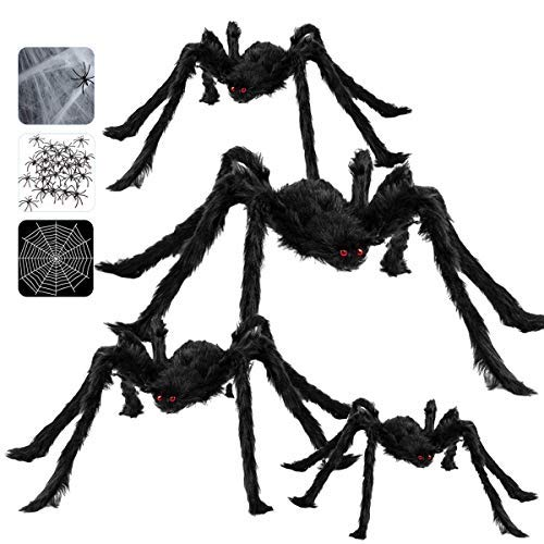 Giant Spiders 4pcs (35