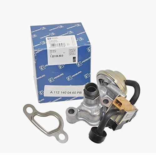 Mercedes-Benz EGR Valve Control Solenoid + Gasket Pierburg OEM 1120460/1120060 by PIERBURG OEM