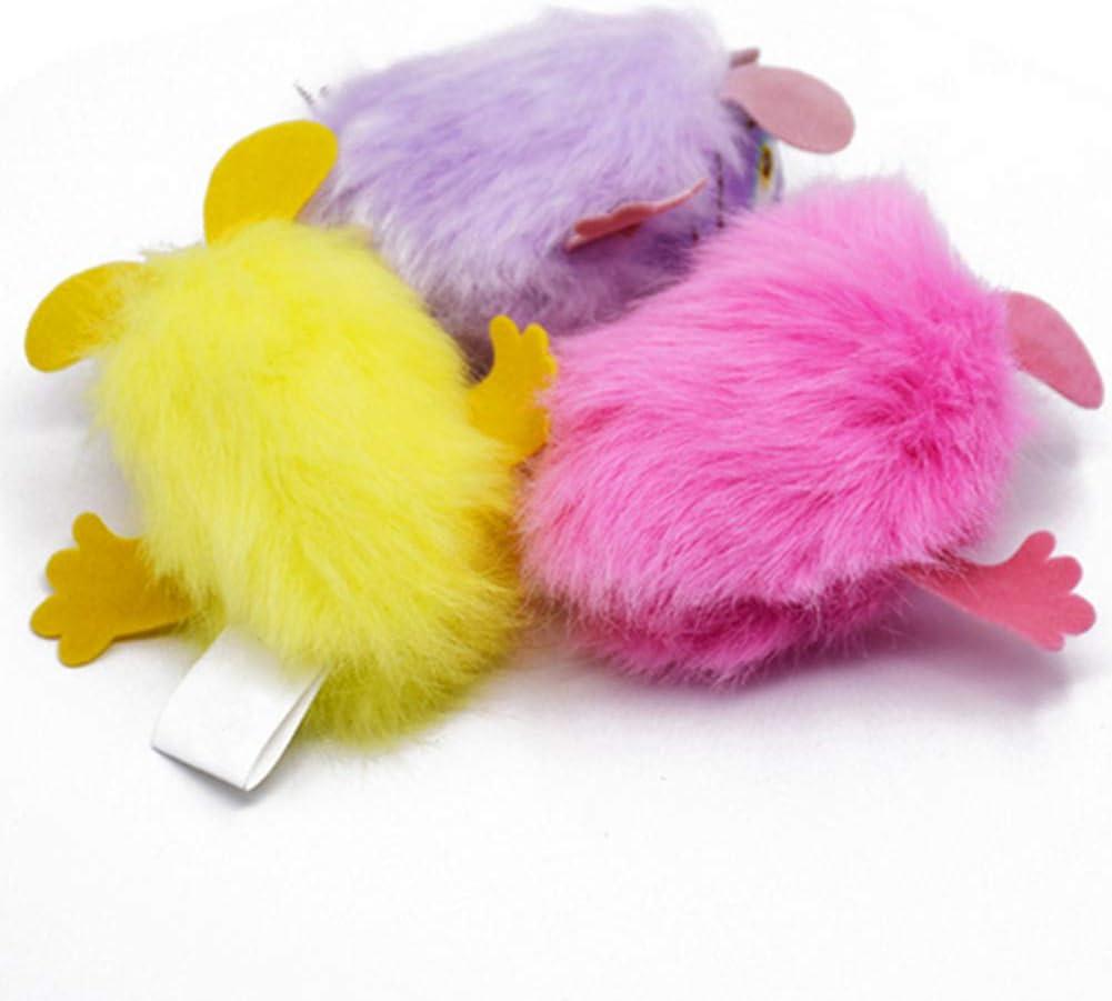 Ruiting Juego de Juguete Gato Hierba gatera Peludo ratón púrpura Interactivo para Mascotas con Bell Gatito ratón Relleno Hierba gatera Juguete: Amazon.es: Productos para mascotas