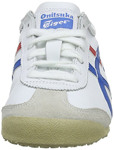 Blanc Mexico Tiger 0146 66 adulte White Sneakers Blue Mixte Onistuka Basses POMqBZww