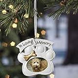 Loving Memory Dog Memorial Christmas Ornament Photo