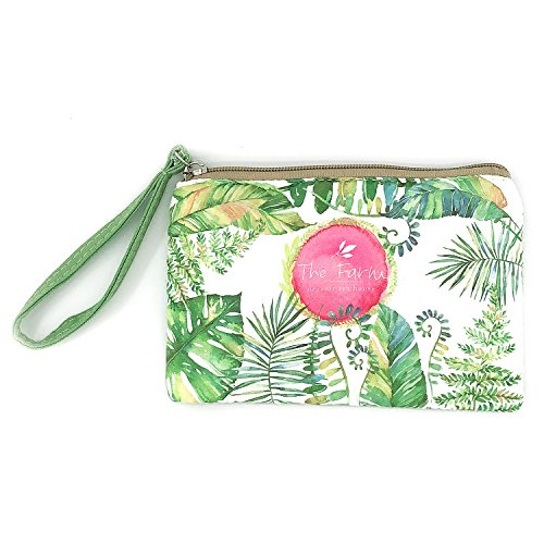 Elesa Miracle Women Girl Retro Canvas Coin Purse Zipper Pouch Wallet (The Farm)