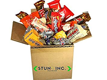 Candy Snack Care Package | Gift Box | Mother's Day, Mother's day care package,