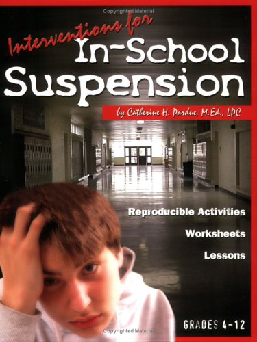 Interventions for In-School Suspension book w/ CD