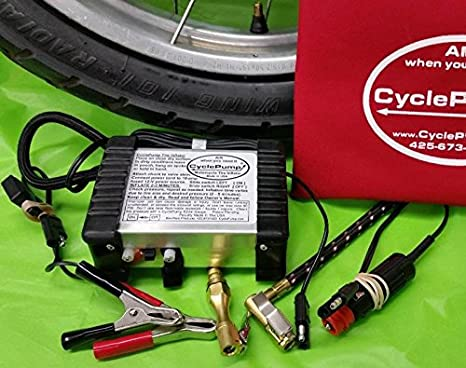 Amazon.com: CyclePump EXPEDITION Tire Inflator with 90-degree Chuck: Automotive