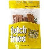 Fetch Fries Organic Dog Treats - USDA Certified Organic, Chicken & Sweet Potato, Made in USA, All Natural, Human Grade, Grain Free, 5 oz (Soft & Chewy)