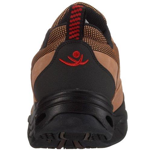 Chung Shi MEF9100115 - Zapatillas de senderismo de cuero nobuck para hombre Marrón