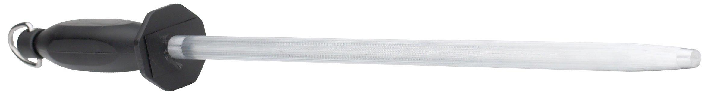 WINCO Premium Round Sharpening Steel, 14-Inch