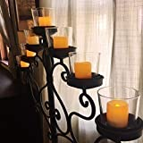 Homemory Flickering Flameless Votive Candles, 12PCS