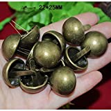 BIG-DEAL_Wholesale Metal Brads Scrapbooking Craft Card Making Decorative DIY Rivets Fastener Brads Pin Nail,Bronze Tone,2225mm,1000PCs