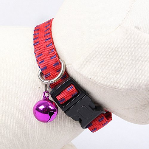 Fully 1x Martingale Collar with Quick Snap Buckle Flea Tick Lice Control Adjustable + 2x Louse Nit Comb Remover 15.5x4cm Pet Puppy Cat