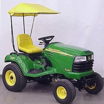amazon com : sunshade fits john deere x400 x500 and x700 hdgt series  tractors : garden & outdoor