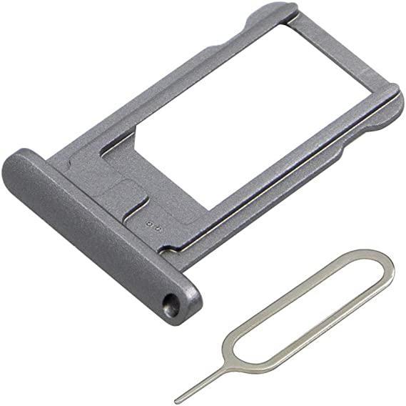 For iPad Mini Black New Metal Nano Sim Card Holder Tray Plate /& Eject Pin